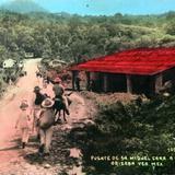 Puente de San Miguel de la Carretera a Cordoba hacia 1930-1950 - Orizaba, Veracruz