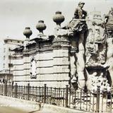 Fuente de el Salto del Agua  hacia  1930-1950 - Ciudad de México, Distrito Federal