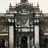 El Palacio Nacional hacia  1930-1950 - Ciudad de México, Distrito Federal