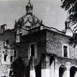 Iglesia de el Carmen  San Angel  hacia  1930-1950 - Ciudad de México, Distrito Federal