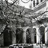 Patio de el Convento de la Iglesia de el Carmen  San Angel  hacia  1930-1950 - Ciudad de México, Distrito Federal