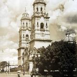 La Catedral de Morelia Michoacan hacia 1930-1950 - Morelia, Michoacán