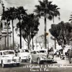 Avenida Francisco I Madero hacia 1930-1950 - Monterrey, Nuevo León