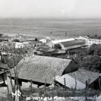 Vista de la Playa hacia 1930-1950 - Puerto Vallarta, Jalisco