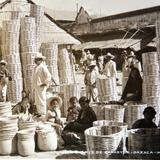Tipos Mexicanos Vendedores de Canastas Circa 1930-1950 - Oaxaca, Oaxaca