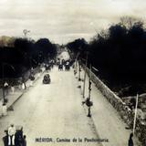 Camino a la Penitenciaria Alrededor de 1900- 1930 - Mérida, Yucatán