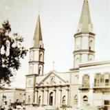 La Catedral Alrededor de  1930-1950 - Matamoros, Tamaulipas