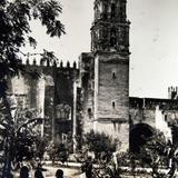 La Catedral Alrededor de  1930-1950 - Cuernavaca, Morelos