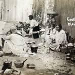Cocineras de Los Revolucionarios Mexicanos alrededor de 1914