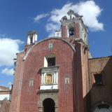 Portada del Templo de San Antonio de Padua. Enero/2016 - Puebla, Puebla