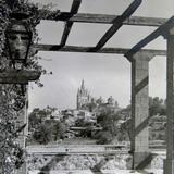 Panorama de San Miguel de Allende Guanajuato Alrededor de 1950-1960
