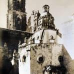 La Iglesia de Tepotzotlán Alrededor de 1930-1950