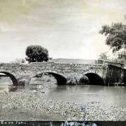 El Puente de Puga en el Rio de Tepic Circa 1930-1950