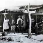 Mercado al aire libre circa 1920-1940