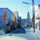 Calle Juan Sarabia e Iglesia del Carmen (1963)