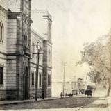 Calzada del Agua Azul Hacia 1908