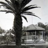 Kiosko y Jardin Alrededor de 1930-1950