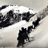 Montanas nevadas del Ixtacihuatl Hacia 1930-1950