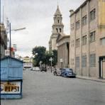 Vista hacia el Teatro de la Paz y Templo del Carmen