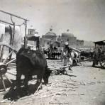 Escena Cotidiana en Ocotlan de Morelos Oaxaca circa 1900-1930