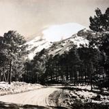 El Volcan Popocatepetl Alrededor de 1930-1950