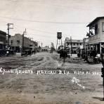 Calle Azueta vista al norte circa 1920-1940
