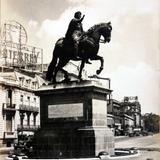 Monumento a Carlos IV -Alla por 1930-1950 - Ciudad de México, Distrito Federal