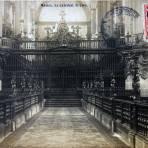 El Coro de la Catedral por elFotografo FELIX MIRET Alla por  1900-1920 - Ciudad de México, Distrito Federal