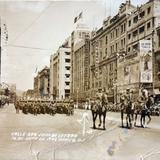 Calle San Juan de Letran el 16 de Septiembre de 1942 - Ciudad de México, Distrito Federal