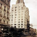 Edificio La Nacional por el fotografo HUGO BREHME Alla por 1920-1930 - Ciudad de México, Distrito Federal