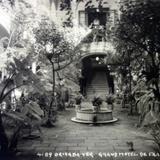 Gran Hotel de France por el fotografo HUGO BREHME Alla por 1920-1930 - Orizaba, Veracruz