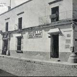 Esquina de la Calle Mexico e Iturbide circa 1910-1930