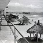 Panoramica desde los corredores del Hotel Playa  circa 1930-1950
