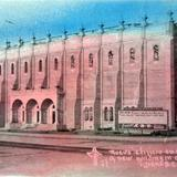Edificio en Construccion Alrededor de 1930-1950