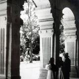 Detalle de el Palacio de Justicia Alrededor de 1930-1950