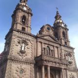 Fachada de la parroquia de Ocotlán. Marzo/2016