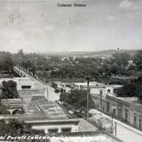 Vista general del Puente Canedo Circa de 1930-1950