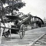 Tipica Arana en el Puente Circa de 1930-1950