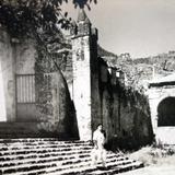 Escalinata de La iglesia Alla por 1930-1950