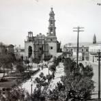 La iglesia Alla por 1910-1925