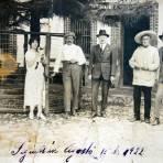 Familia pudiente fechada el dia 15 de Agosto de 1922