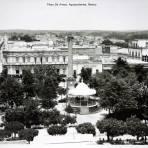 Plaza De Armas, Aguascalientes, Mexico,( 1930-1950)