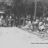 Tranvía Jardín Principal Irapuato 1909