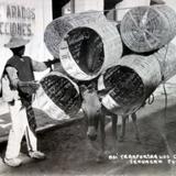 Tipos Mexicanos vendedor de Canastos ( 1930-1950 )