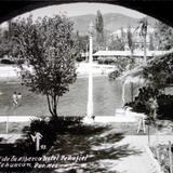 Detalle de la Alberca del Hotel Penafiel ( 1930-1950 )