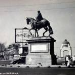 Monumento a Carlos IV y plaza de la Reforma ( 1930-1950 ) - Ciudad de México, Distrito Federal
