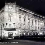 Palacio de Correos ( 1930-1950 ) - Ciudad de México, Distrito Federal