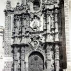 Porton de La Santisima ( 1930-1950 ) - Ciudad de México, Distrito Federal