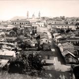 Panorama de la Poblacion (  1930-1950 ) - Altotonga, Veracruz