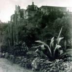 Tepepan Mexico D F por el fotografo Hugo Brehme ( Circa 1930 )